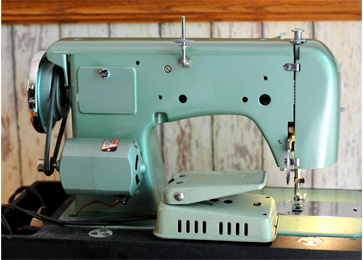Morse Model MZZ Sewing Machine