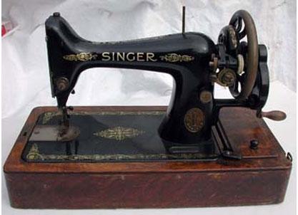 Singer Handcrank Sewing Machines Gorgeous Singer Hand Crank Sewing Machine