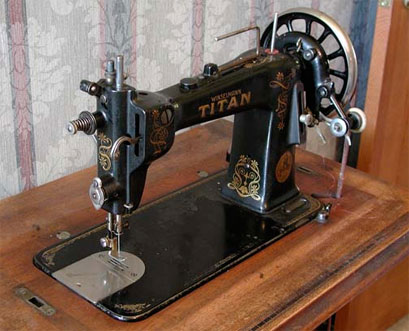 Winselmann Titan Treadle Sewing