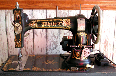 Domestic Treadle Sewing Machine - LoveToKnow: Advice women can trust