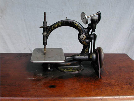 Vintage Atlas zig zag sewing machine on AOL Answers.