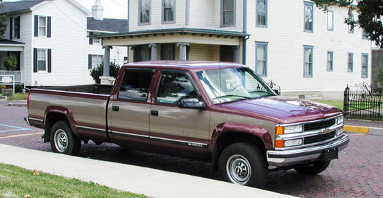 1998 Chevrolet 3500 Crew Cab Long Bed 4-wheel drive Truck