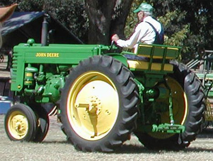 John Deere With Courting Seat