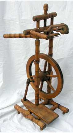 Castle-Style Spinning Wheel