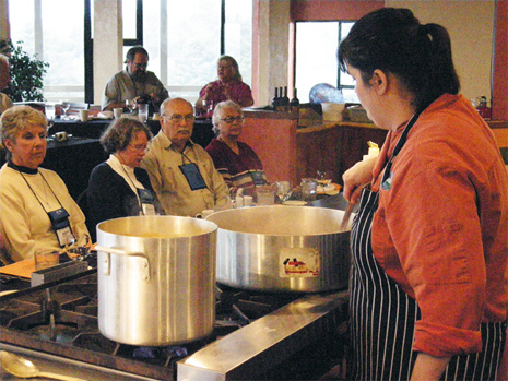 Cooking Demonstration by Lincoln City, Oregon Chef