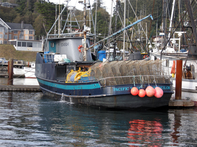 Crab Fishing Boat